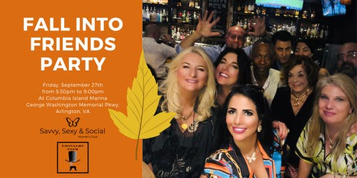 Fall Into Friends Happy Hour & Networking Mixer