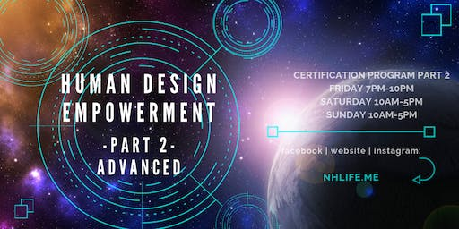 生命易圖証書課程 Human Design Empowerment Certificate Program (Advanced)