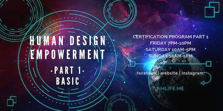 生命易圖証書課程 Human Design Empowerment Certificate Program (Basic) tickets