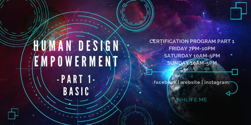 生命易圖証書課程 Human Design Empowerment Certificate Program (Basic)