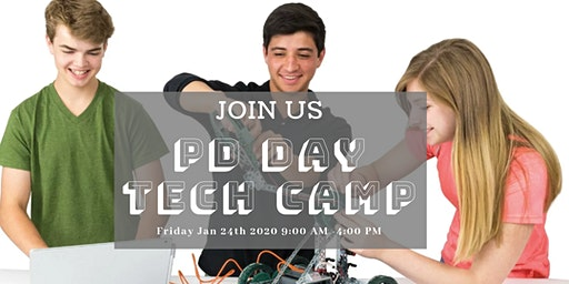 PD DAY Camp Friday Jan-24 2020 (5-8 y) and (9-11 y)
