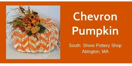 Painted Chevron Pumpkin tickets