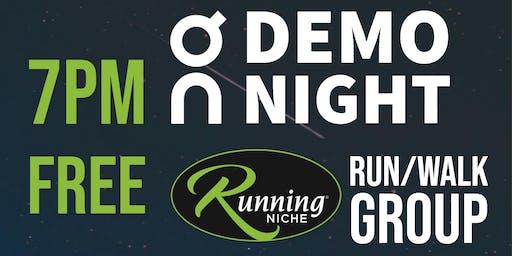 On Running Demo 5k Run/Walk Group at Running Niche in the Grove STL