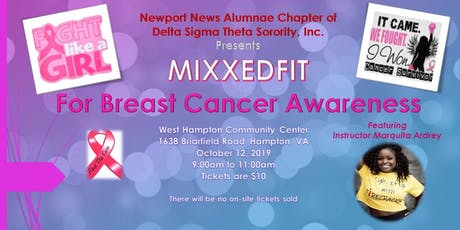 MIXXEDFIT: For Breast Cancer Awareness tickets