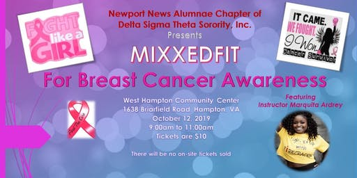 MIXXEDFIT: For Breast Cancer Awareness