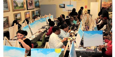 Geo's Monthly Sip and Paint Party