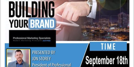 Building Your Brand - with Jon Storey