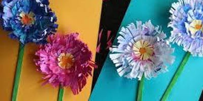 Flowers and Birds Paper Craft Activity