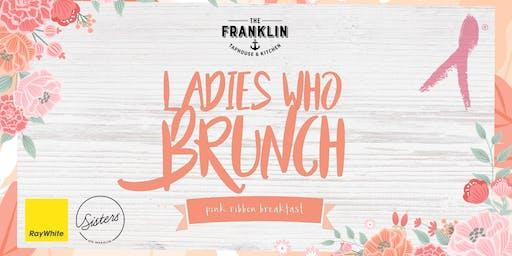 Ladies who brunch - Pink ribbon breakfast