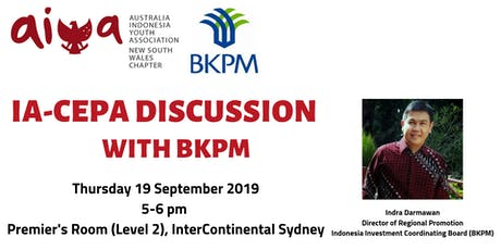 IA-CEPA Discussion with BKPM tickets