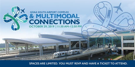 GOAA South Airport Complex & Multimodal Connections Presentation tickets