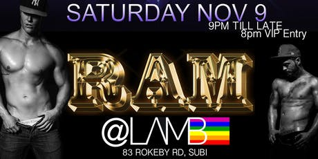 Ram @Lamb tickets