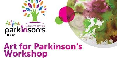 Art for Parkinson's Workshop - Ingleburn 25 Nov