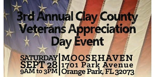 3rd Annual Clay County Veterans Appreciation Day Event