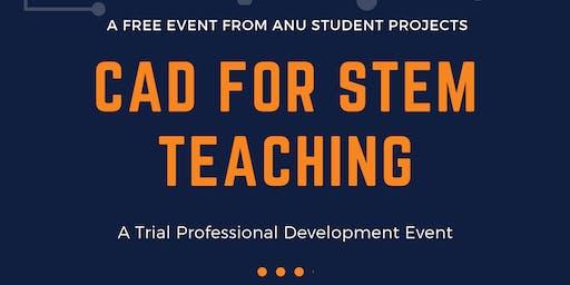 CAD for STEM Teaching