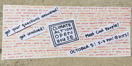 Climate Action Open House tickets
