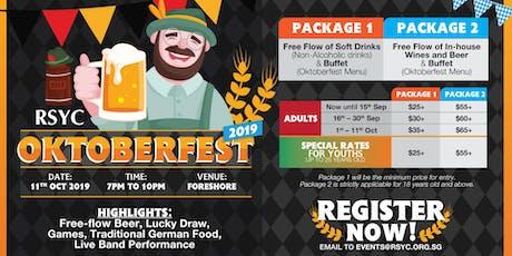 RSYC Oktoberfest 2019 tickets