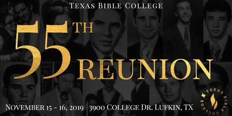 Texas Bible College 55th Reunion tickets