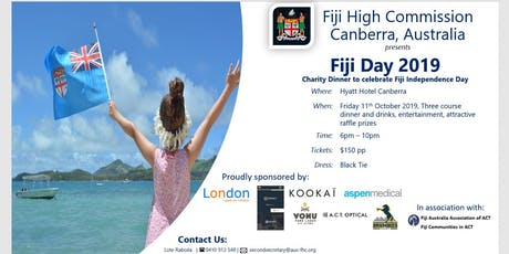 Fiji Day 2019 Charity Gala Dinner tickets