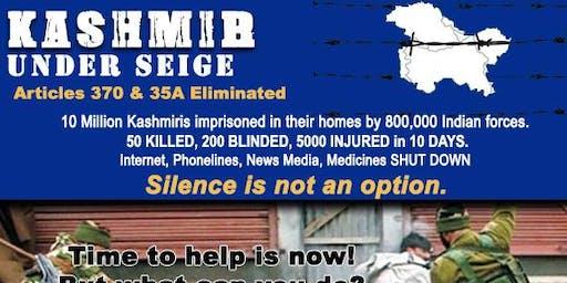 Kashmir Under Siege: Silence is not an Option