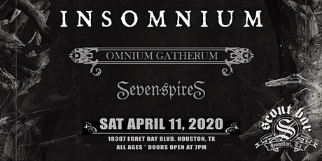 Insomnium - show has been rescheduled for Thur June 17, 2021 tickets