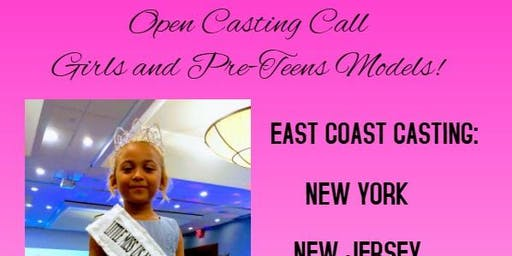 CASTING FOR GIRLS AND TWEENS -INTERNATIONAL MODELING PAGEANT MISS US NATION