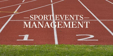 Sports Event Management Course tickets