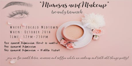 Mimosas and Makeup Beauty Brunch  tickets