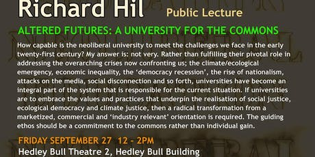 Altered Futures: A University for the Commons tickets