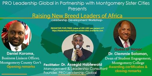 New Breed Leaders of Africa Leadership Workshop