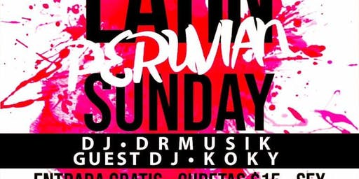 Latin Peruvian Sundays at Modelo Bar & Grill