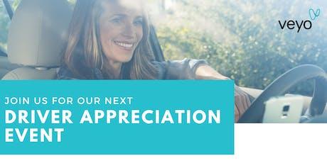 Driver Appreciation Event tickets