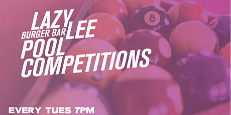 Pool Competitions at Lazy Lee tickets