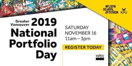 2019 Vancouver National Portfolio Day tickets