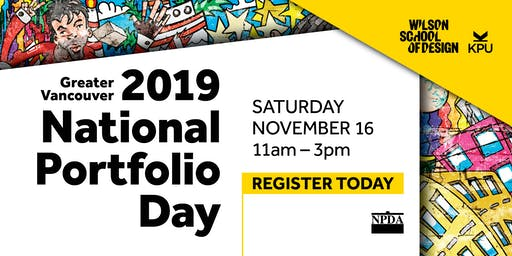 2019 Vancouver National Portfolio Day