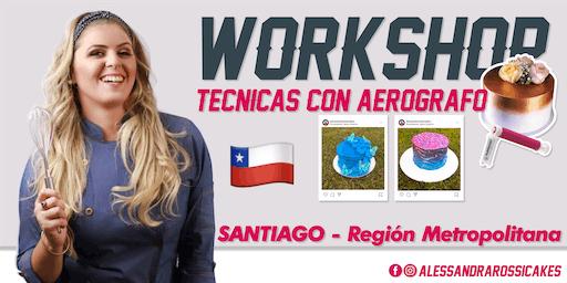 Workshop Técnicas en Aerógrafo - SANTIAGO