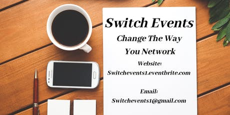 Switch Events - Central NJ Networking tickets