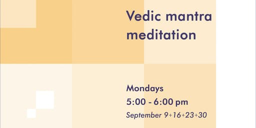Vedic mantra meditation