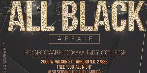 NC ALL BLACK AFFAIR