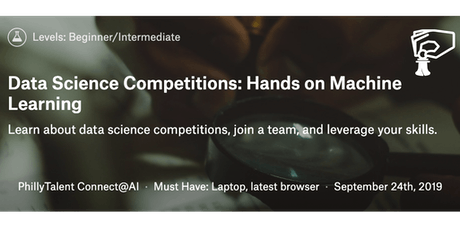 Data Competitions: Hands On Machine Learning September Cohort tickets