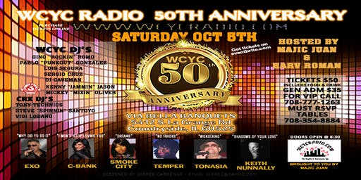 WCYC's 50th Anniversary Event