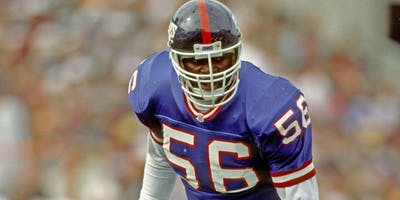 Lawrence Taylor October 19 2019 Legends Gallery Chatham, NJ NY Giants