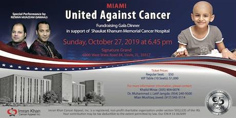 Fundraising Gala Dinner in Miami tickets