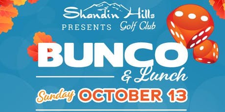 FALL Bunco  & Boo-tique at Shandin Hills tickets