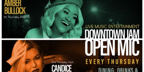 The Downtown Jam + Open Mic at BLACKBIRD tickets