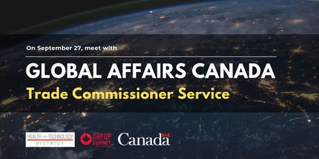 Meet Global Affairs Canada • Trade Commissioner Service tickets