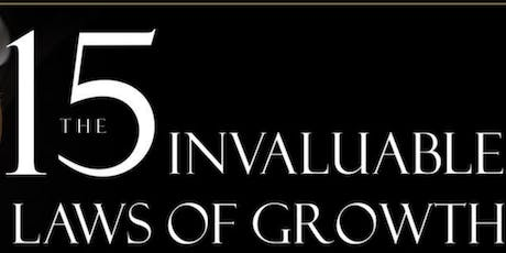 Mastermind Group-The 15 Invaluable Laws of Growth tickets