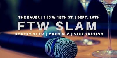 FTW Poetry Slam