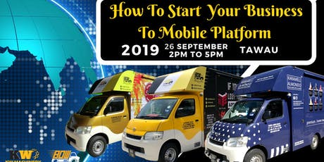 Expand Your Traditional Business To Mobile Truck Platform tickets
