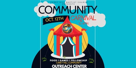 CHBC Annual Community Carnival tickets